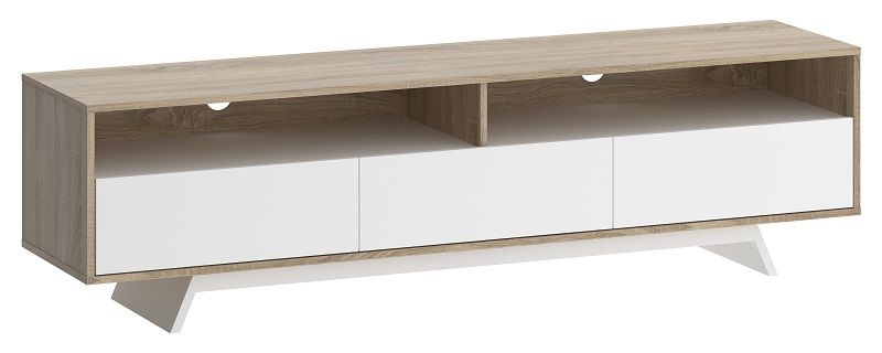 Match TV-bänk - Ljus trä