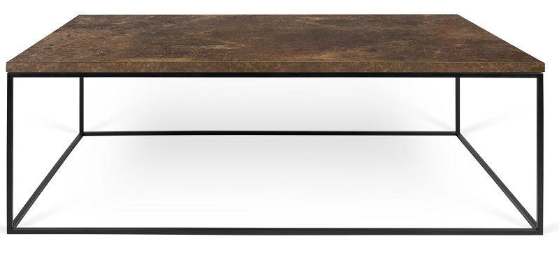 Temahome - Gleam Soffbord - Brun 120 cm