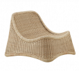 Sika-Design - ICONS Chill Loungestol - Natur